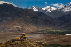 Snow Moutain in Leh Ladakh Royalty Free Stock Photography