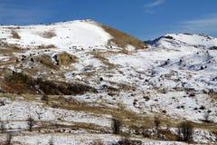 Snow Munzur Vale, Tunceli. Stock Images