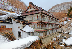 Snow in Nagano Royalty Free Stock Photography