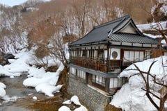 Snow in Nagano Royalty Free Stock Photos
