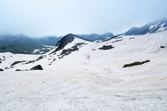 Snow in National park Durmitor Stock Photography