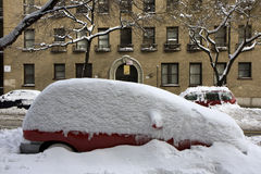 Snow in New York Royalty Free Stock Images