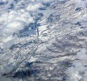 Snow in the Northern Arizona Mountains Stock Photo