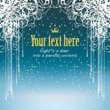 Snow och krullning royaltyfri illustrationer