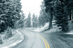 Free Snow On Highway Stock Images - 2209864