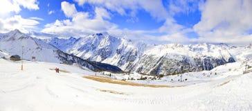 Snow Panorama Stock Photography