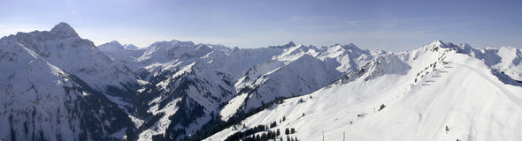 Free Snow Panorama Royalty Free Stock Photography - 358687