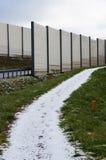 Snow on path Stock Photos