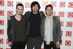 Snow Patrol. Arriving for the Q magazine Awards 2001 at the Grosvenor House Hotel, London. 24/10/2011 Picture by: Steve Vas / Featureflash Stock Photography