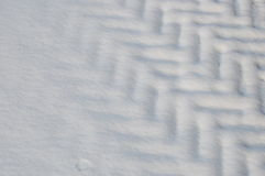 Snow pattern. A snow pattern fading away Stock Image