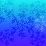 Snow pattern Stock Photography