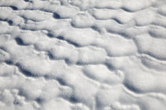 Snow pattern Stock Photo