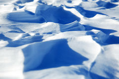 Snow pattern Royalty Free Stock Images