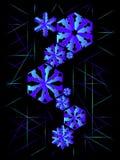 Snow pattern background Stock Photos