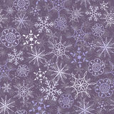 Snow pattern Stock Images