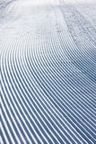 Snow pattern on ski slope Stock Photos
