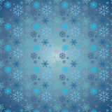 Snow pattern. Snowflakes Christmas vector icons. Snow flake collection graphic art royalty free illustration