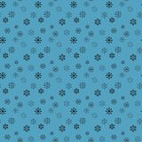 Snow pattern. Vector seamless pattern with snowflakes. Festive Christmas and New Year background. Winter illustration. Eps10 vector illustration