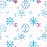 Snow_pattern1 Stock Afbeelding
