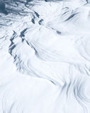 Snow patterns Royalty Free Stock Photography