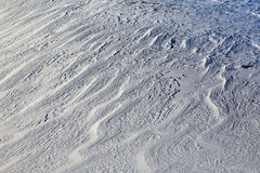 Snow patterns, texture Stock Photography