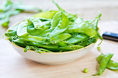 Snow pea Stock Photography