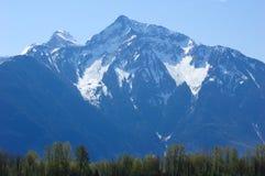 Snow peak Royalty Free Stock Image