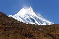 Snow peak Stock Image