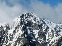 Snow peak Stock Photography