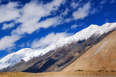 Snow peak mountains of Ladakh, Jammu and Kashmir, India Stock Photography