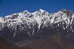 Snow peaks of Himalayas Stock Images