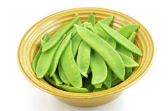Snow peas Stock Photo