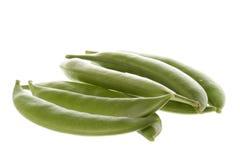 Snow Peas Macro Stock Images