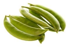 Snow Peas Macro Stock Image