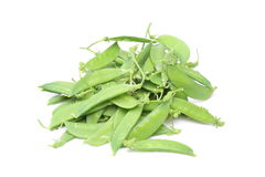 Snow peas Stock Photos
