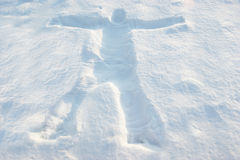 Snow people Royalty Free Stock Images