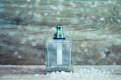 Snow perfume Royalty Free Stock Photo