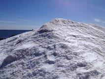Snow pile Royalty Free Stock Photos