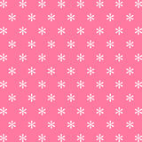 Snow pink background icon great for any use. Vector EPS10. Stock Images
