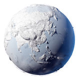 Snow Planet Earth Stock Photos