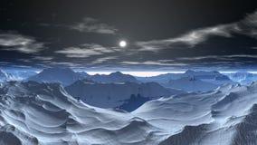 Snow planet stock video