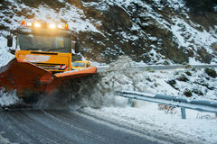 Snow plough Stock Photos