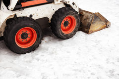 Snow plow Royalty Free Stock Photography