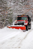 Snow Plow Stock Photo
