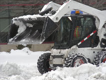 Snow Plow Royalty Free Stock Images