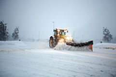 Snow Plow Stock Images