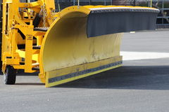 Snow Plow royalty free stock image