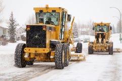 Snow Plows stock photo