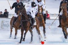 Snow Polo Cup 2017 Sankt Moritz Royalty Free Stock Photography