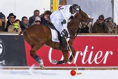 Snow Polo Cup 2017 Sankt Moritz Stock Photo